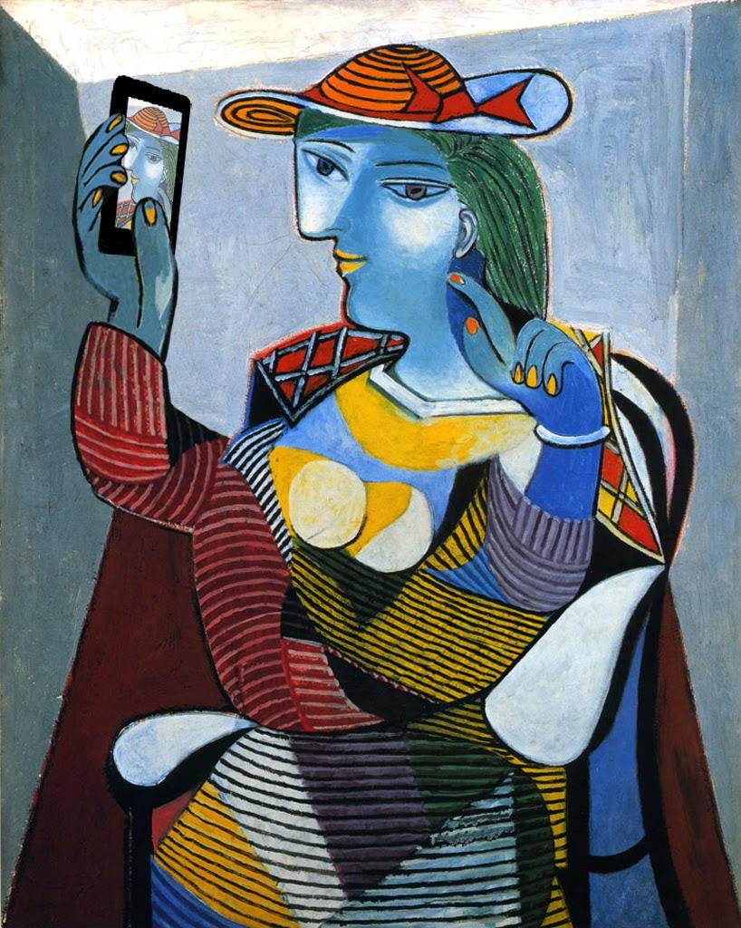 Пабло Пикассо Мария Тереза Вальтер (1937)