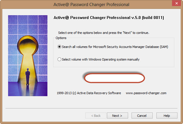 Active @ Password Changer V 5.0 to Reset Administrator or Local User Passwords on Windows