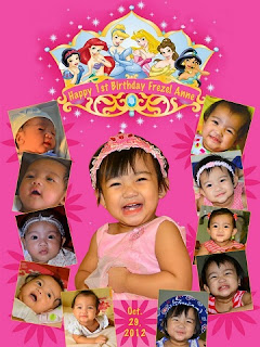 birthday tarpaulin - first birthday