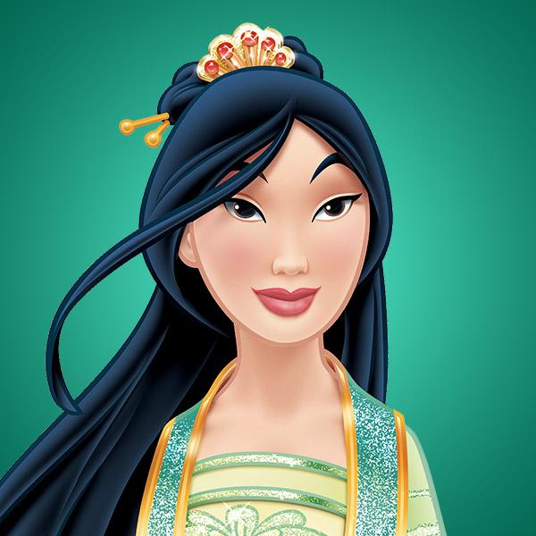 Invitación de Cumpleaños de Mulan