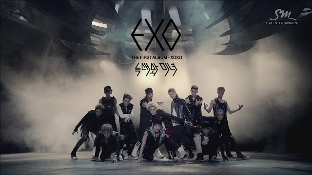 EXO 狼与美女 Wolf (Chinese Ver) lyrics 歌詞