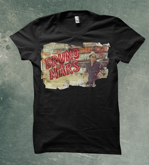 bruno mars mars t shirts for sale on