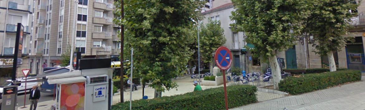 Plaza del jard n for Jardin del posio ourense