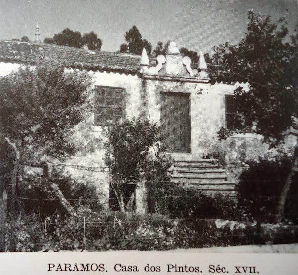 Solar dos Pintos, de Paramos (Espinho)