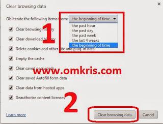 Cara Cepat Hapus History Browsing Google Chrome