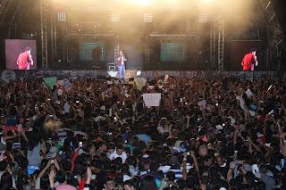 Feport atrai milhares de pessoas paro o show de Luan Santana