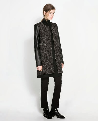 abrigo zara