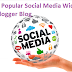 Most Popular Social Media Widgets For Blogger Blog