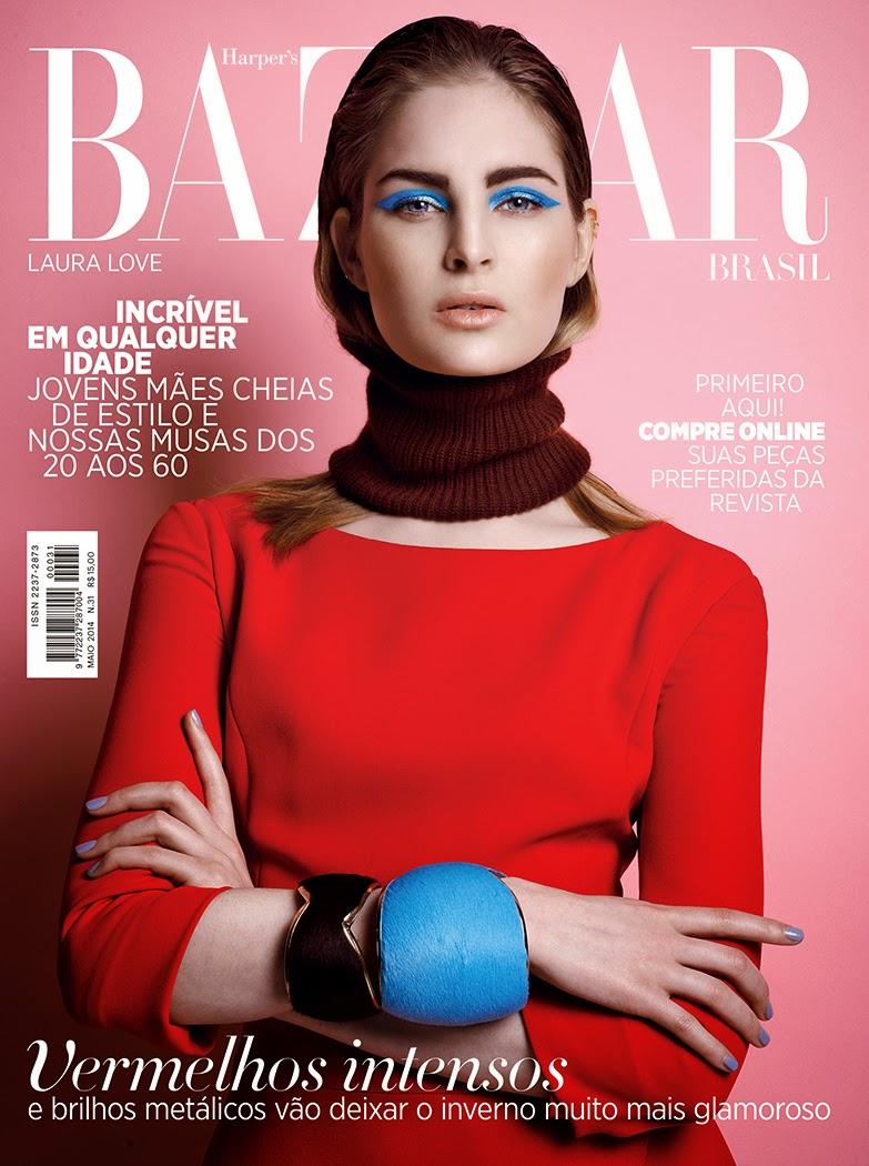 Singer, Bass Guitar @ Laura Love - Harpers Bazaar Brazil, May 2015