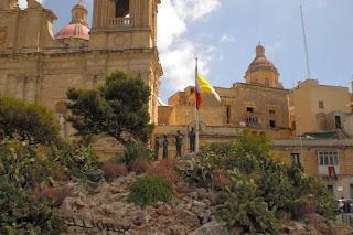 freedom monument, Birgu Vittoriosa, Malta, Europa