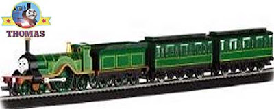 Bachmann trains Emily the tank engine passenger set ready to run HO train toy railway scale model