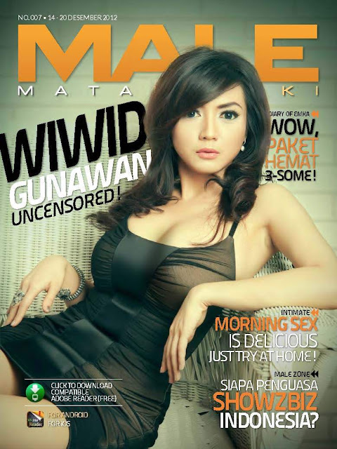 Download Foto Wiwid Gunawan Uncensored di MALE Magazine