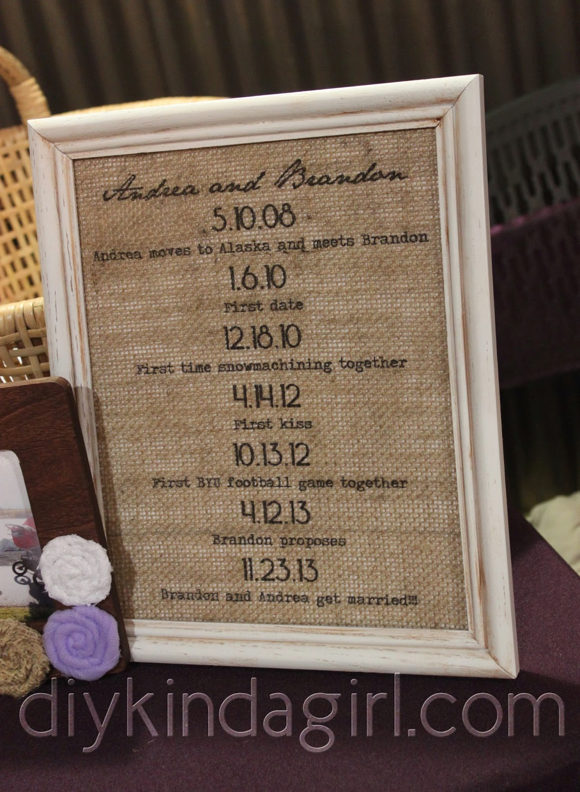 Wedding Gift Table Setup : Wedding Gift Table Setup Just a few feet over from the gift table was ...