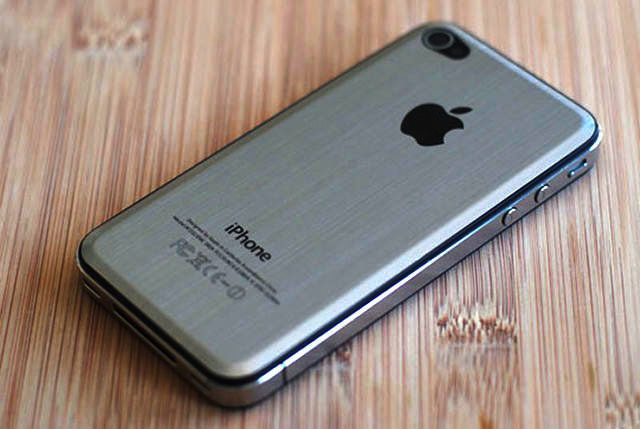 iPhone 5 Got a Metal Back