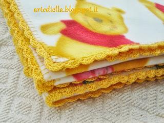 Le fragole di stoffa for Semplici piani di coperta