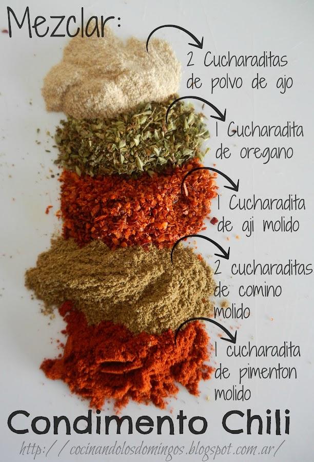 Cómo hace un sustituto del polvo de chile