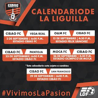 Cibao FC recibe Vega Real en inicio de la Liguill