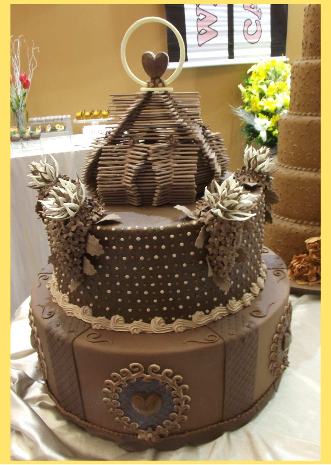 Blog Deli Art Cake Creations : Exposicao de Bolos Deli Art Cake Creations