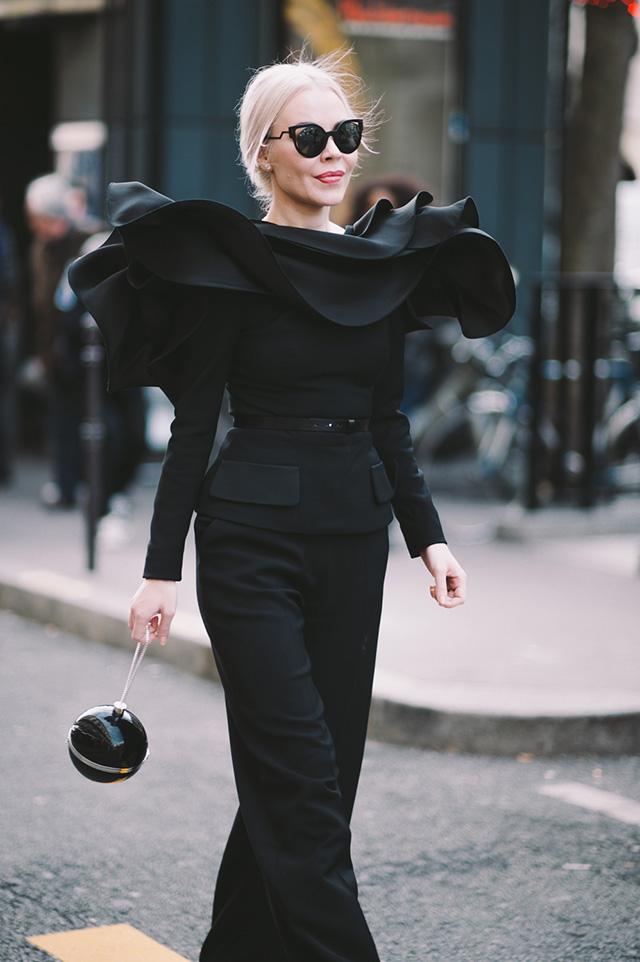 Street Style Fashion Week Paris Spring 2016