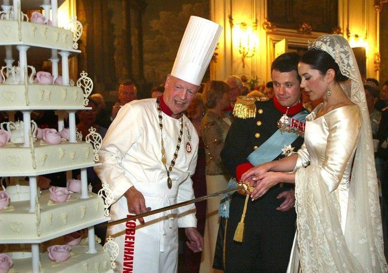 Konigliche Juwelen Kronprinz Frederik Von Danemark Und Mary