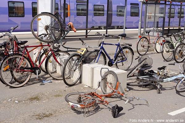 cykelmassaker, tågstrejk