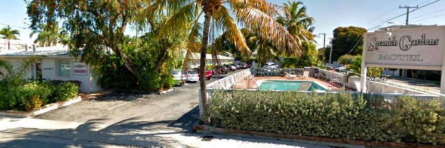 Unterkunft in Key West - Spanish Garden Motel