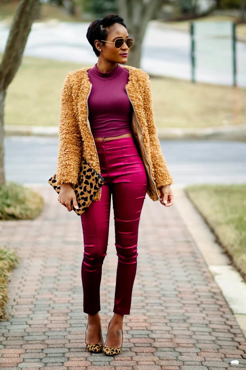 burgundy-pants