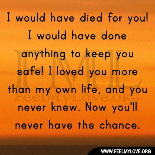 love died: