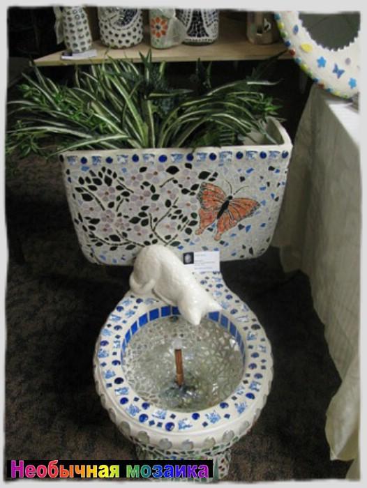 Как украсить туалет своими руками фото