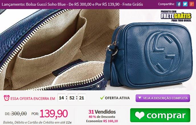 http://tpmdeofertas.com.br/Oferta-Lancamento-Bolsa-Gucci-Soho-Blue---De-R-30000-e-Por-R-13990---Frete-Gratis-859.aspx