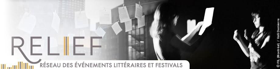 RELIEF - Réseau des événements littéraires et festivals