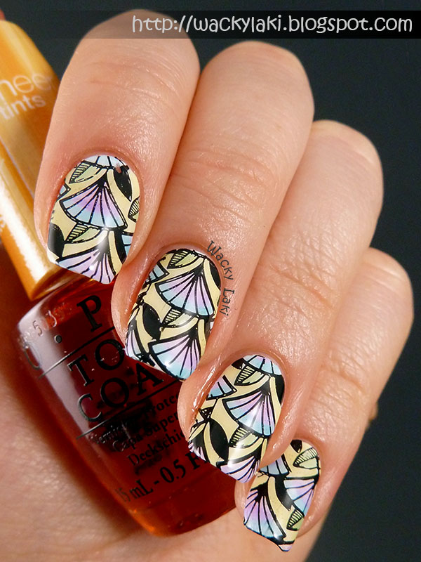 Wacky laki may 2014 i decided since i didnt get the chance to fully review them i would at least play around with them and show you some fun nail art prinsesfo Image collections