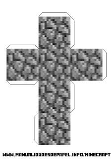 Crear bloque minecraft de adoquin