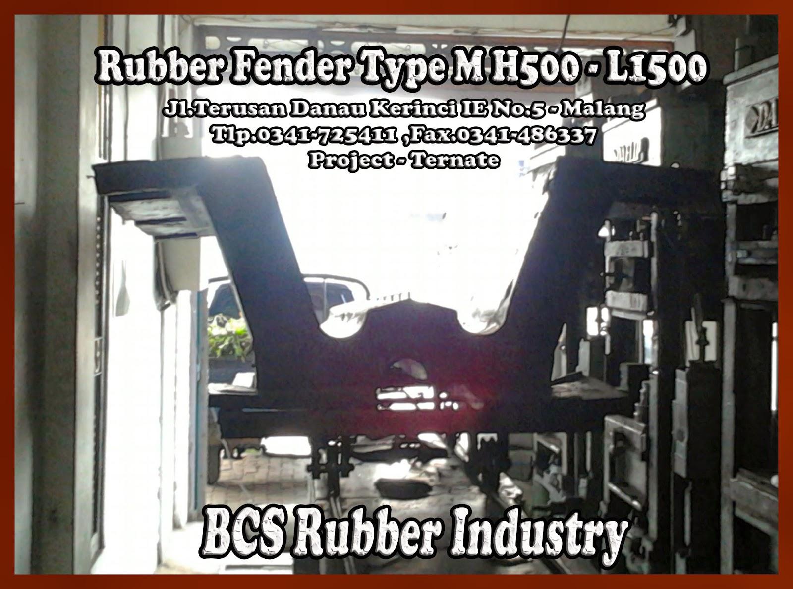 RUBBER FENDER M, FENDER DERMAGA INDONESIA, ELASTOMER RUBBER FENDER,MARINE FENDER BY BCS RUBBER INDUSTRY