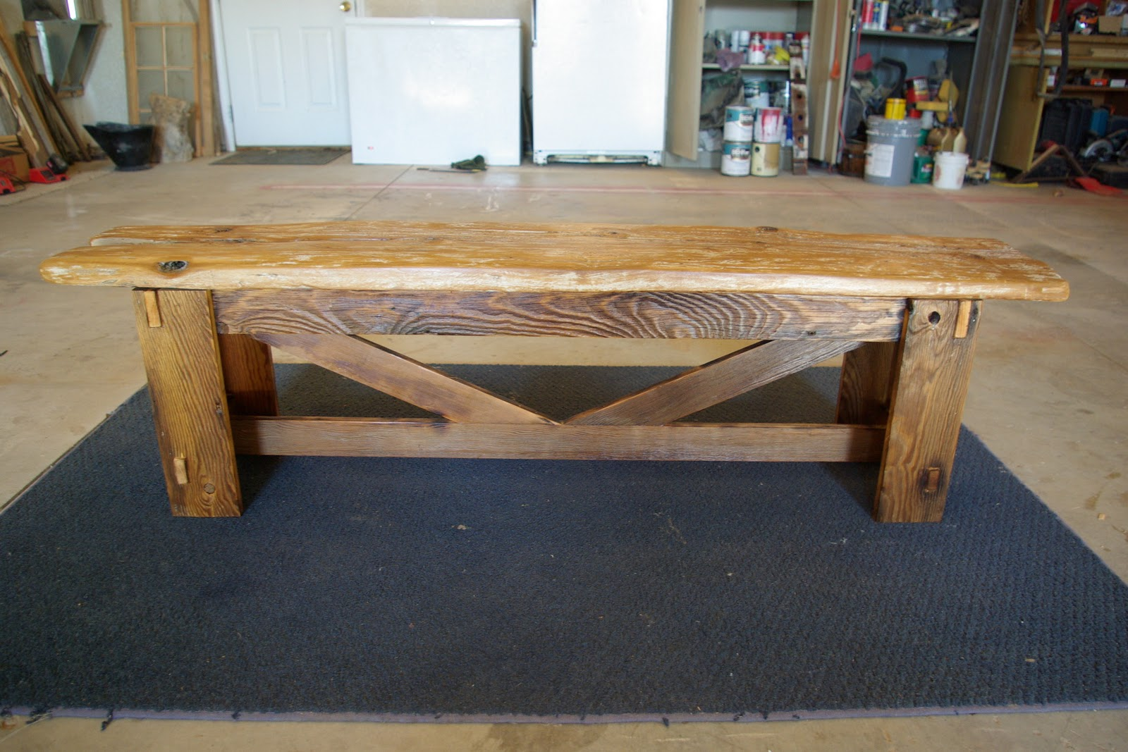 High Quality Rustic Bench