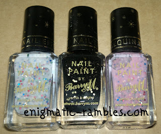 Barry-M-sequin-nail-effect-black-pink-white