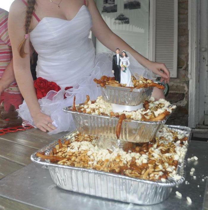 Wine Women And Politics Redneck Wedding Cake