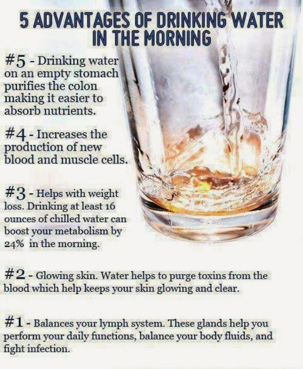 5 sebab minum air pada waktu pagi