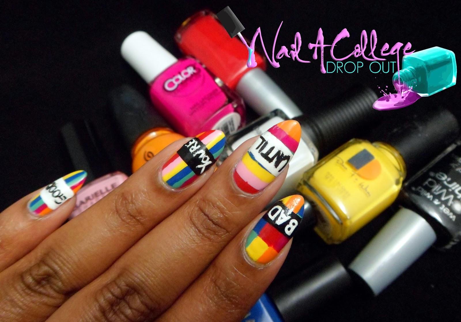Nail A College Drop Out: When Nails Imitate Art: Lakwena Maciver