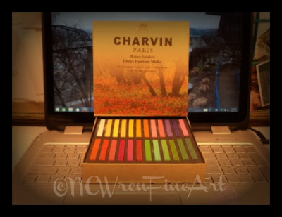 charvin water soluble pastel sticks ncwren