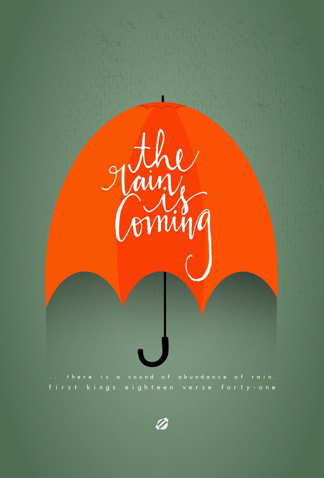 LostBumblebee ©2014 The Rain Is Coming FREE PRINTABLE