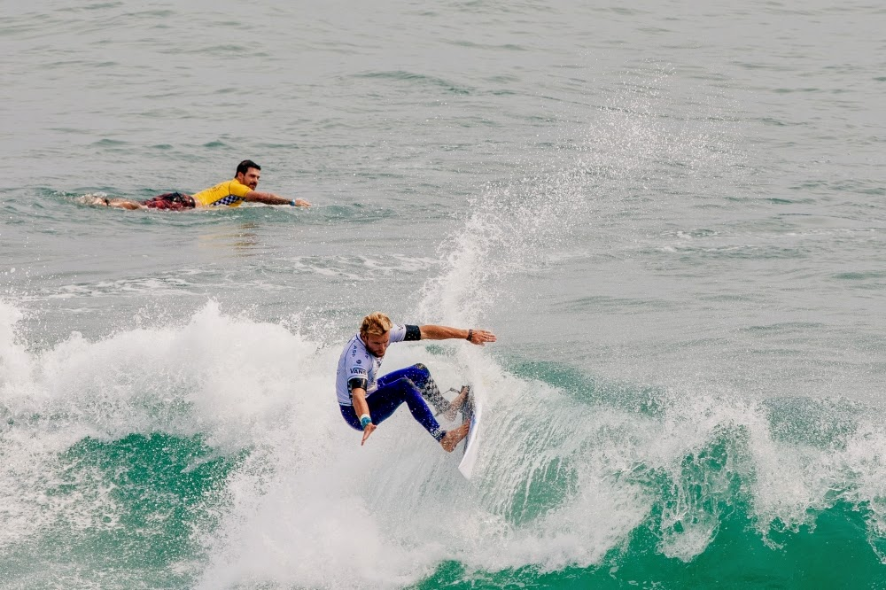 vans us open of surfing 2014 lallande tanner gudauskas  large