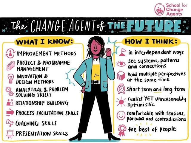The change agent of the future - #university