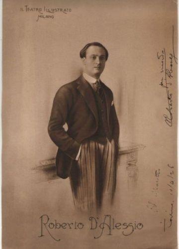 ITALIAN TENOR ROBERTO D'ALESSIO (1893 - 1975) CD