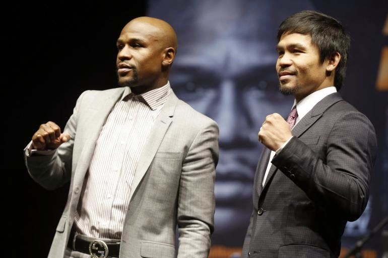 Mayweather vs Pacquiao: who's betting on Money or Manny