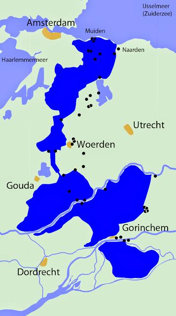 Oude Hollandse Waterlinie (Wikimedia Commons)