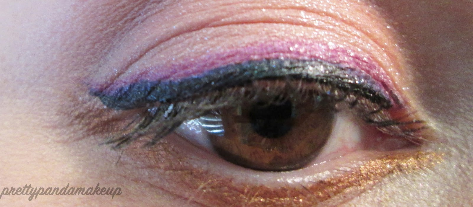 Easter eye look