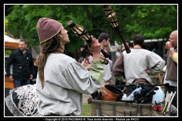 Jongleur au festival médiéval de Sedan