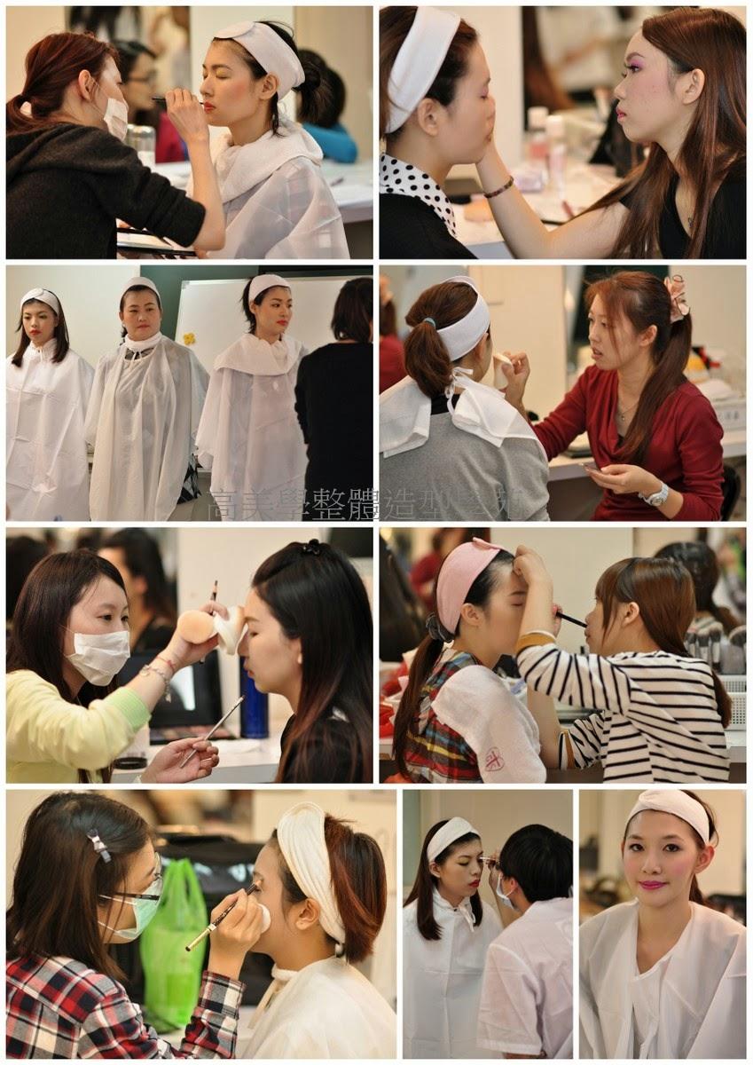 美容乙丙級學員練習