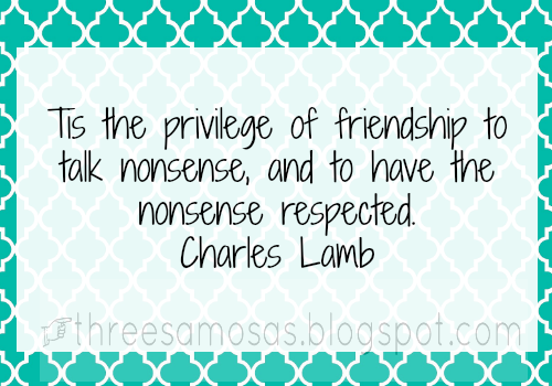privilege of friendship